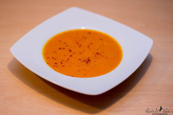 Süße Kürbissuppe